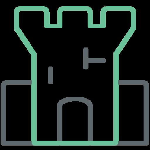לוגו גרפי חומת אש